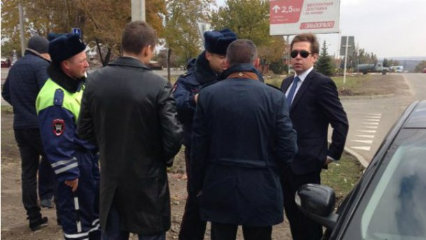 Украинских журналистов задержали в России