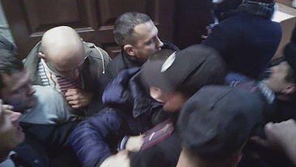 У суді над Мосійчуком бійка (ФОТО)
