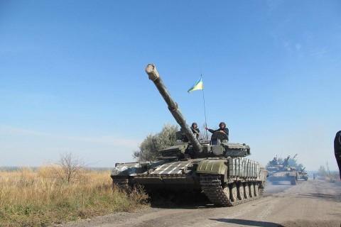 Техніка 93-ї бригади залишила передову (ВІДЕО)