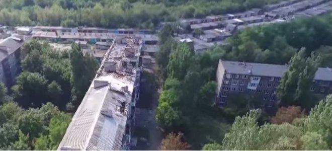 Изуродованный Донецк: в сети показали оккупированный город (ВИДЕО)