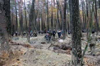 Полторы тысячи старателей снова бросились на янтарные прииски Волыни