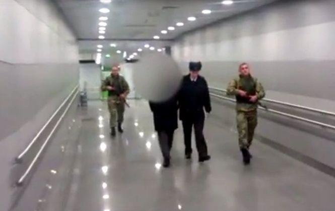 В аеропорту Бориспіль заарештували підозрюваного в тероризмі росіянина (Відео)