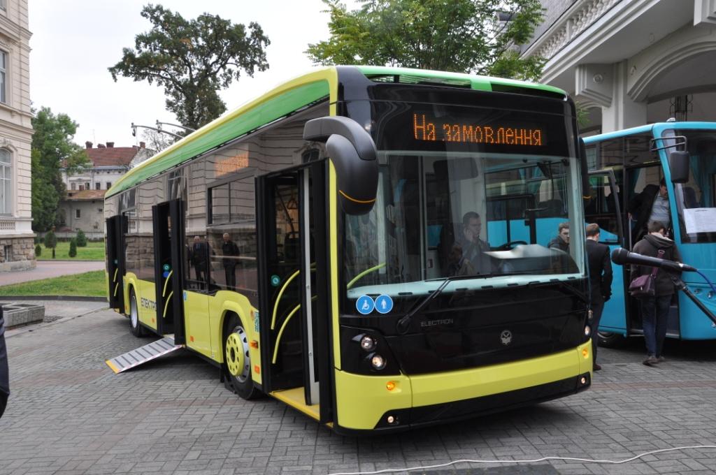У Львові запустять автобус на батарейках