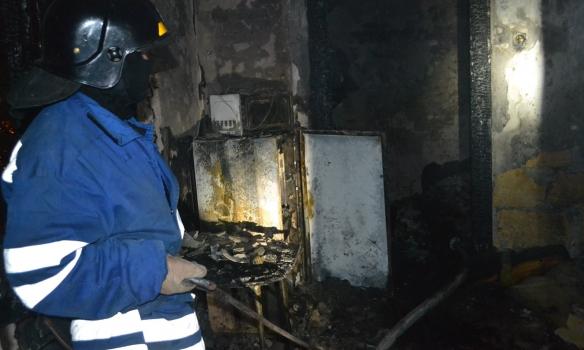 В Одесі сталася пожежа в гуртожитку коледжу, постраждали четверо студентів