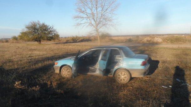 Викрадачі машини на Одещині обстріляли міліціонерів під час погоні
