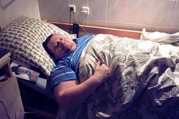 В Мосийчука в спецпалате скорой помощи начались проблемы с позвоночником