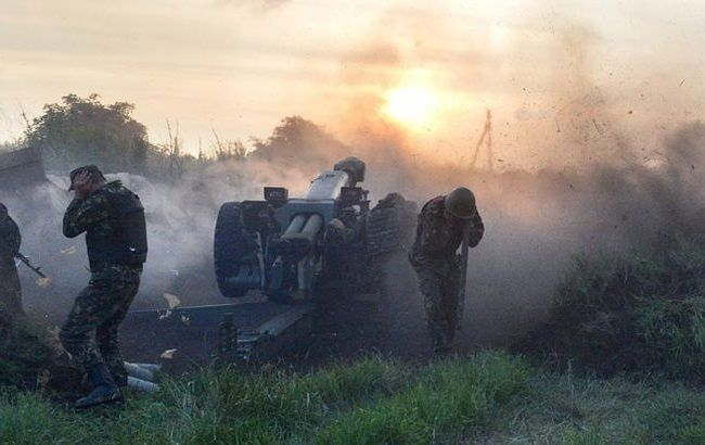 Боевики обстреливают Горловку из реактивных систем залпового огня