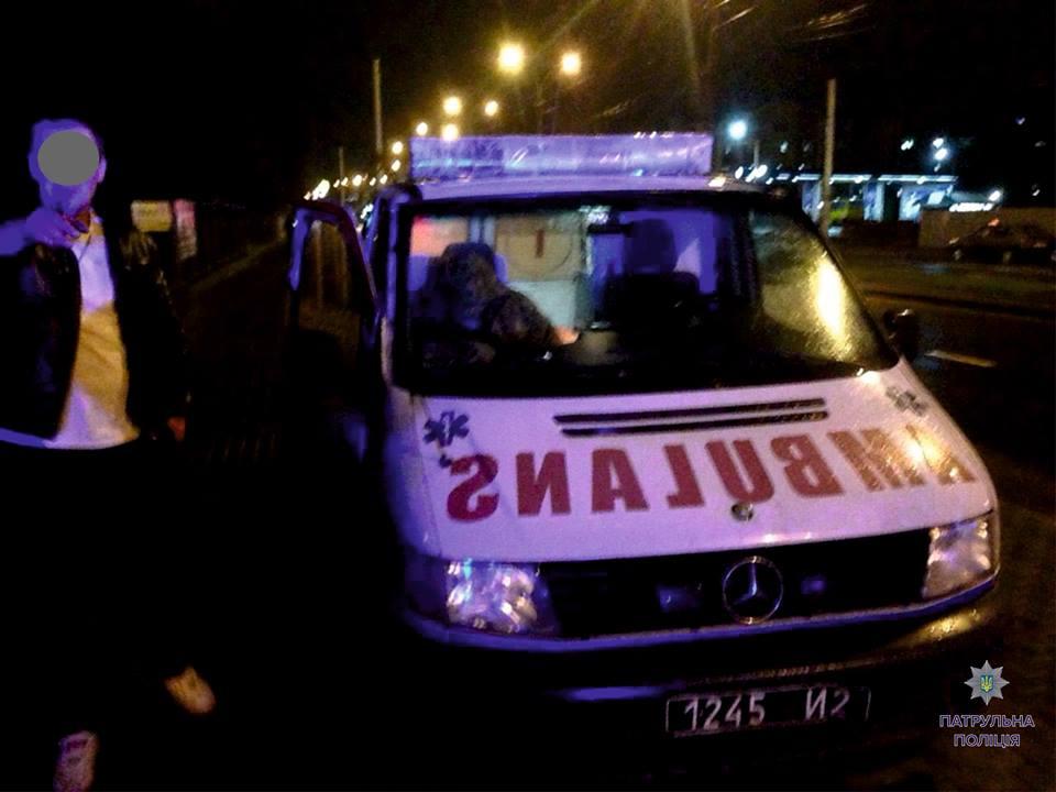 У Львові затримали п'яного водія «швидкої», яка мала перебувати у зоні АТО