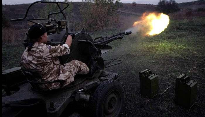 Терористи знову застосували зенітні установки на Донбасі