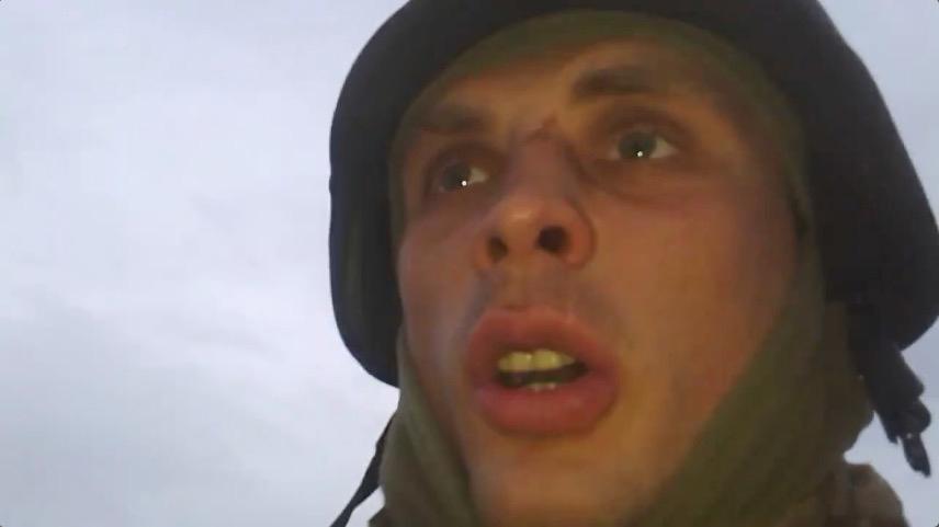 """""""Тобі не жилося вдома?"""": Боєць виклав шокуюче відео знищення російської ДРГ на Донбасі (ВІДЕО 18+)"""