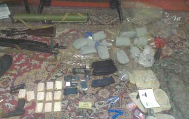 У Донецькій області СБУ затримала диверсанта з 9 кг вибухівки