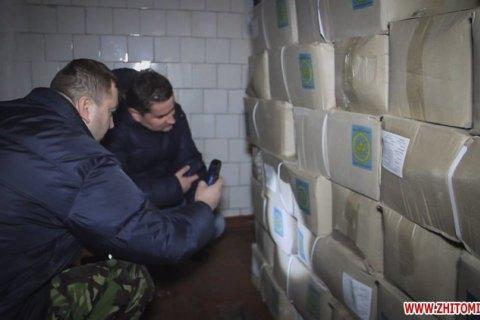 Скандал в Житомирі: в їдальні продавали військові пайки