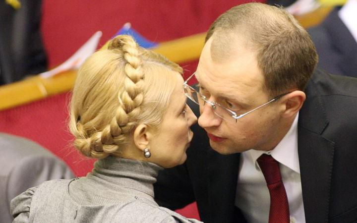 Тимошенко хоче придушити Яценюка (Відео)