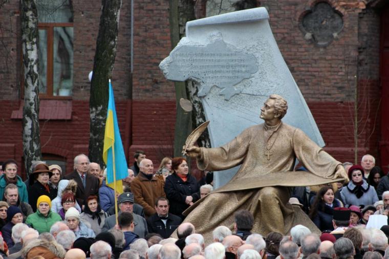 У Львові встановили пам`ятник композитору Михайлу Вербицькому