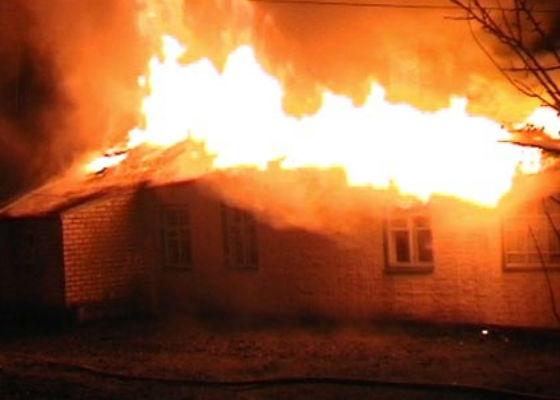 Після пожежі у дачному будинку знайшли зарізаного львів'янина (ФОТО)