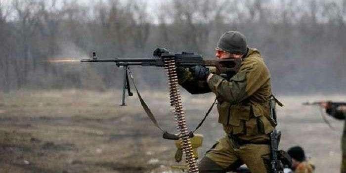 Боевики целый день вели обстрелы на Донецком и Артемовском направлениях