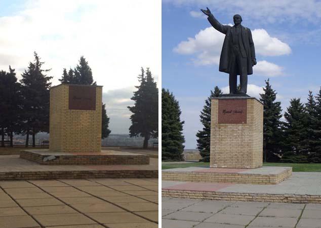 На Харківщині знесли черговий пам'ятник Леніну