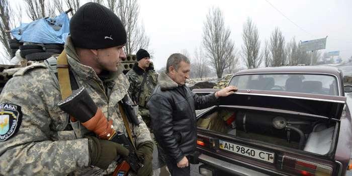 На Донеччині затримали водія, який віз валюту сепаратистам