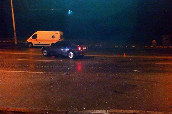 У Києві винуватці ДТП втекли з місця аварії (Фото)