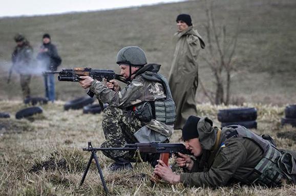 Под Зайцевым состоялся бой между боевиками и украинскими военными