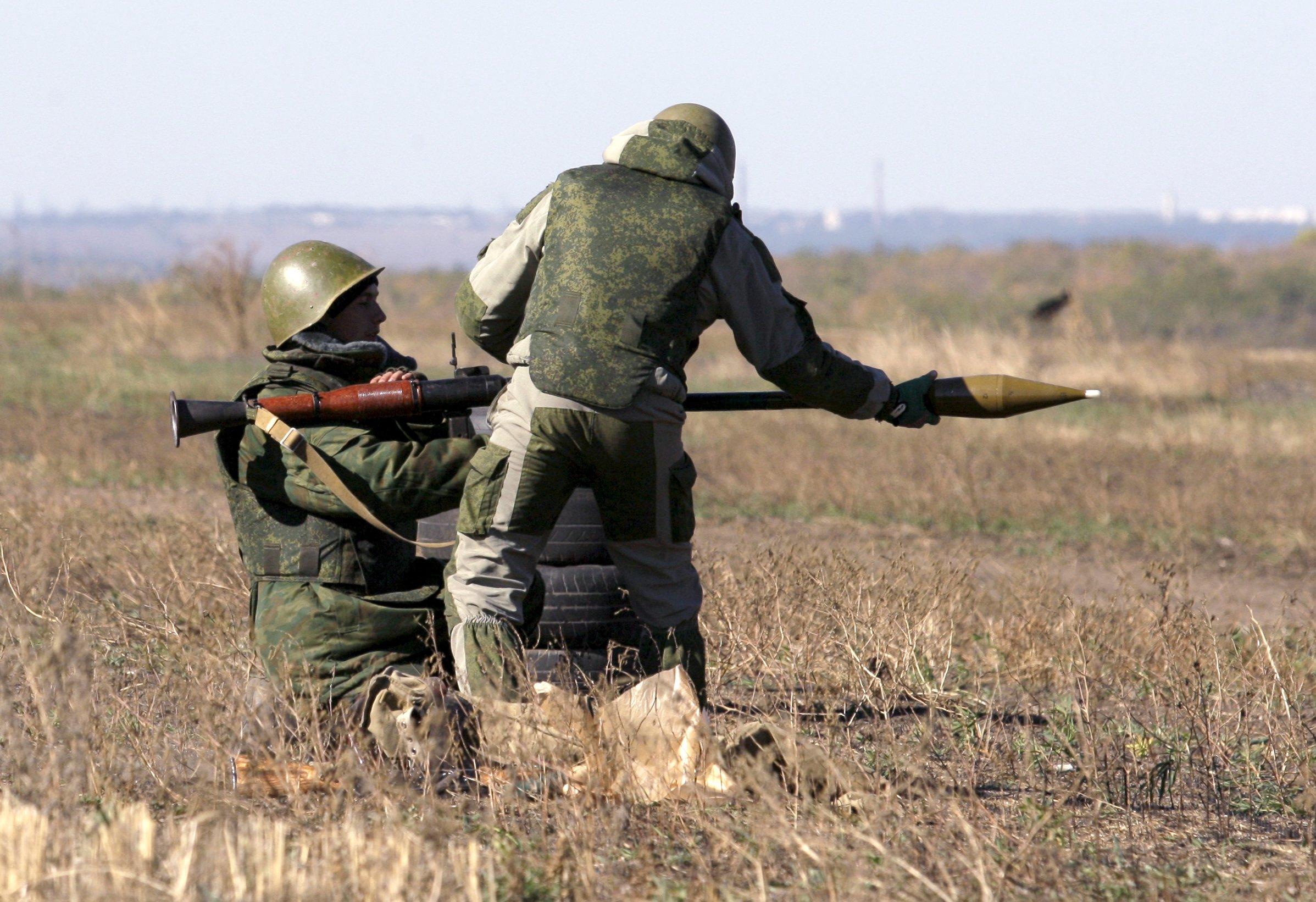 Боевики обстреляли позиции сил АТО из минометов и гранатометов