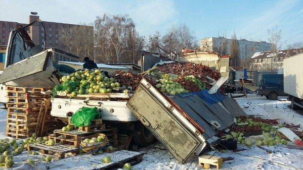 На центральному ринку Харкова стався вибух (фото)
