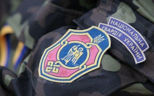 Пожар на блокпосту Нацгвардии в районе Бердянска: военный получил ожоги, сгорели три палатки