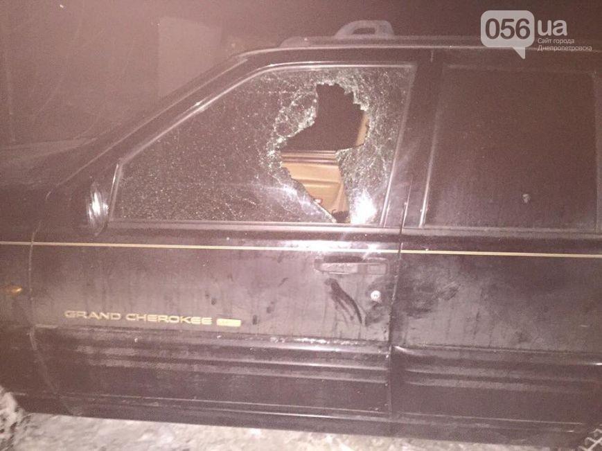 Стрельба на Днепропетровщине: наркоделец пытался скрыться от правоохранителей (ФОТО)