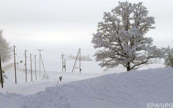 В Україні через негоду залишаються знеструмленими 284 населених пункти у восьми областях