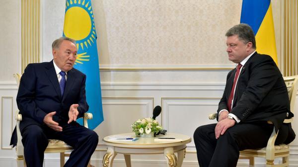 Назарбаєв завірив Порошенка, що не підтримає антиукраїнські санкції Росії