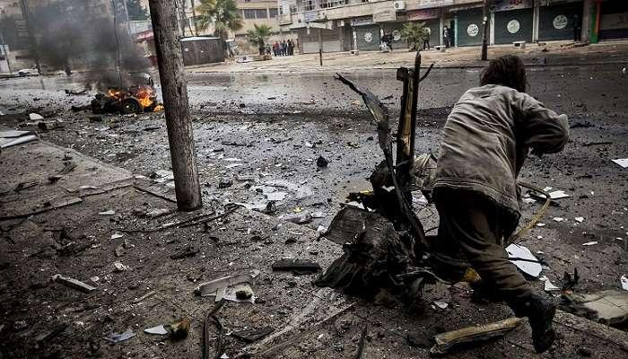 Терорист-смертник підірвав автоцистерну на блокпості в Сирії, 23 загиблих
