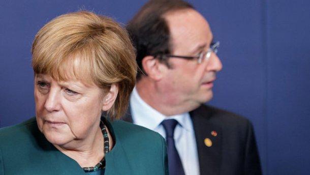 Спецпосланці Меркель і Олланда їдуть в Україну