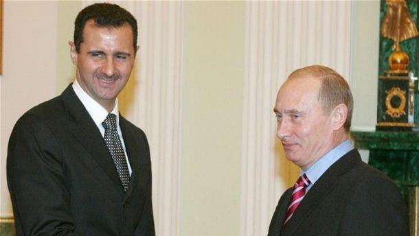 Путін попросив Асада піти у відставку, — ЗМІ