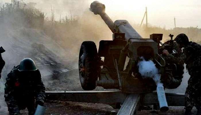 Бойовики із мінометів гатили по позиціях ЗСУ під Маріуполем