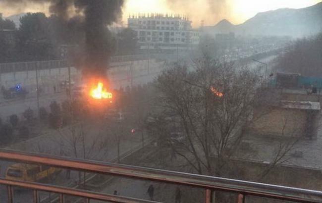 В Афганістані під посольством РФ підірвався смертник, є жертви