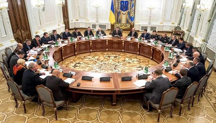 Утвержден новый военно-административное территориальное деление Украины – СНБО