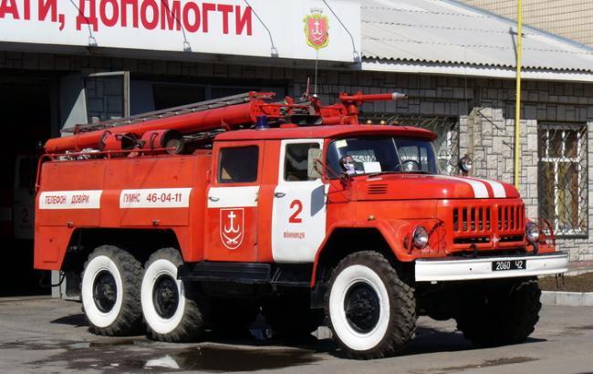 У київському Головному слідчому управлінні ГПУ сталася пожежа