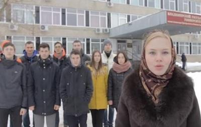 Російські студенти вимагають судити Обаму (Відео)