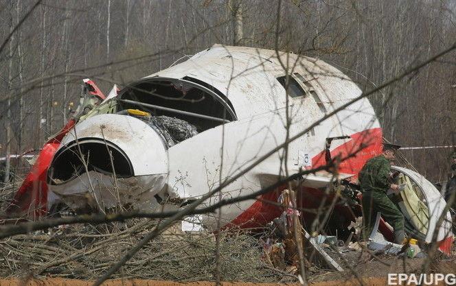 В Міноборони Польщі повідомили, що літак Качинського почав руйнуватися ще в повітрі