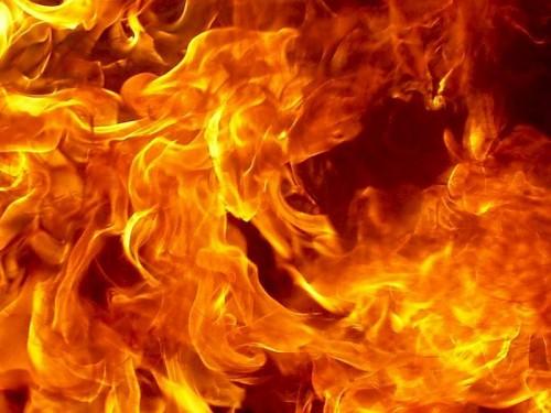Під час пожежі в дерев'яному будинку загинув 73-річний дідусь
