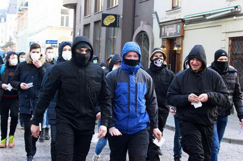 У Львові протестували проти російського бізнесу (ФОТО)