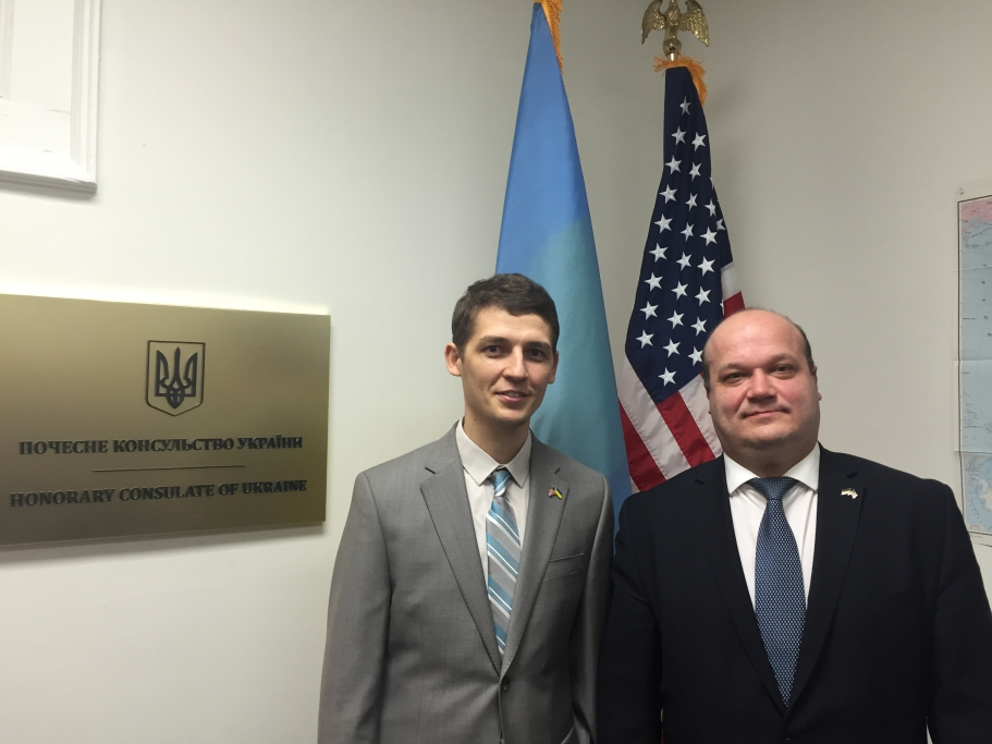 В США открыли еще одно консульство Украины