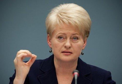 Даля Грибаускайте: Росія каже про холодну війну, справді готується до гарячої