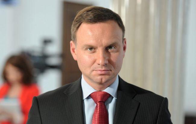 Дуда закликав НАТО посилити присутність у Східній Європі