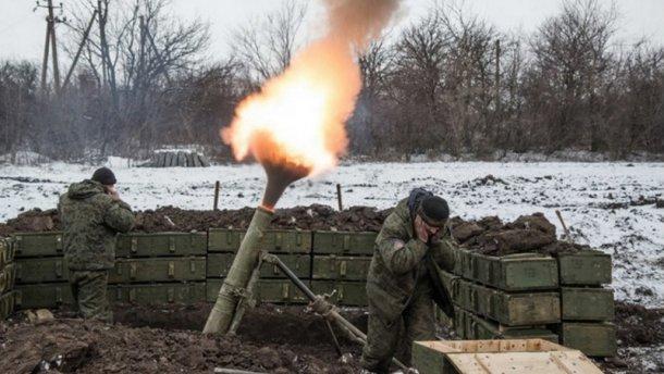 Бойовики відчутно збільшили кількість обстрілів з мінометів