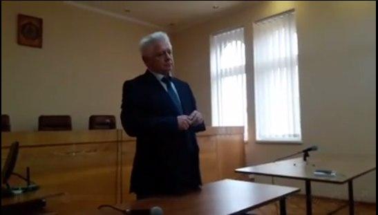 Заступник голови апеляційного суду Львівської області зі скандалом відмовився пройти поліграф (ВІДЕО)