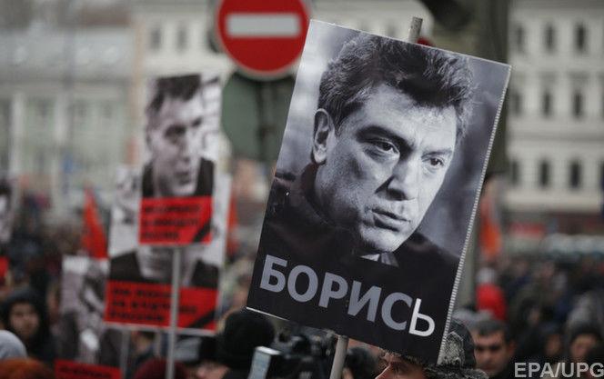 У Росії проходять акції пам'яті Нємцова, шестеро учасників маршу в Кемерово затримані
