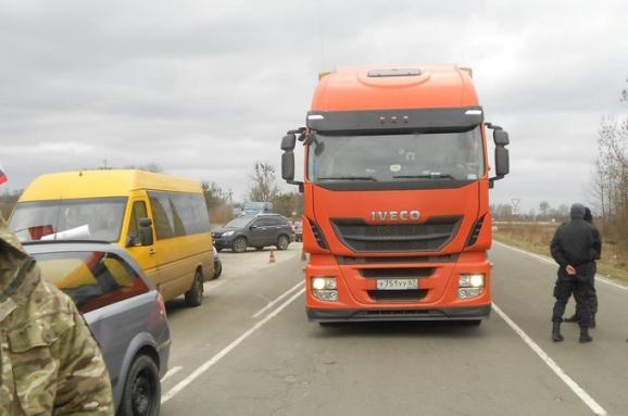 В Ровенской области продолжают блокировать российские фуры