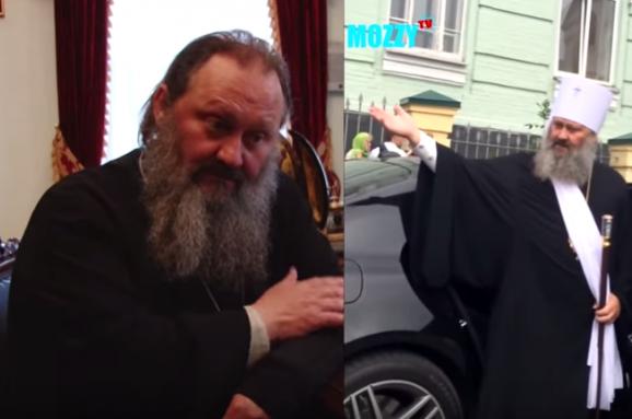 Настоятель Києво-Печерської Лаври, шокував своїм мерседесом і нахамив поліцейським (ВІДЕО)