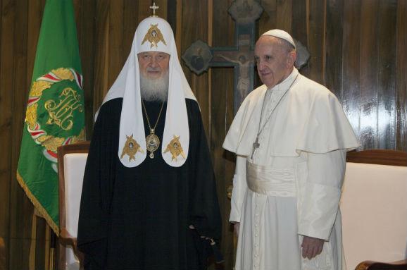 Папа Римський і російський Патріарх підписали декларацію